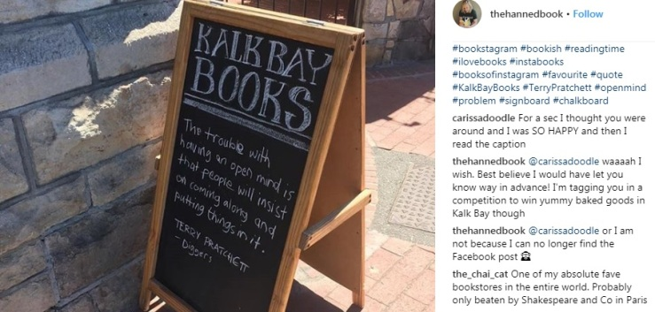 Best Bookshop IG post